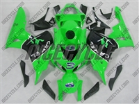 Camel Green Honda CBR 1000RR Motorcycle Fairings