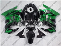 Metallic Green Honda CBR600 F3 Motorcycle Fairings