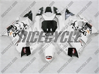 Honda CBR600 F3 White Race Fairings