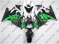 Honda CBR600 F3 Green/Black Motorcycle Fairings