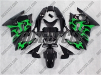 Honda CBR600 F3 Green Tribal Fairings