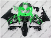 Green/Black Honda CBR900RR Motorcycle Fairings