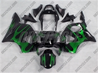 Electric Tribal Honda CBR954RR Motorcycle Fairings
