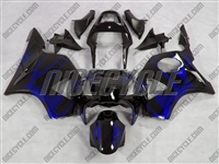 Honda CBR954RR Electric Blue Tribal Fairings
