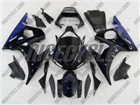 Yamaha YZF-R6 Ice Blue Flame Fairings