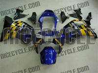Checkered Flag Race Honda CBR954RR Motorcycle Fairings