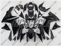 Suzuki GSX-R 600 750 Gloss Black Fairings