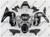 Honda CBR954RR Black/Titanium Motorcycle Fairings