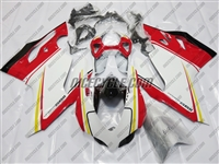 Red/White/Yellow Ducati 1199/899 Panigale Fairings