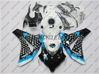 Honda CBR 1000RR Graffiti Blue Fairings