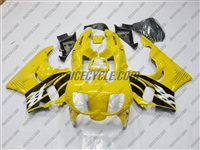 Yellow RR Honda CBR900RR Motorcycle Fairings