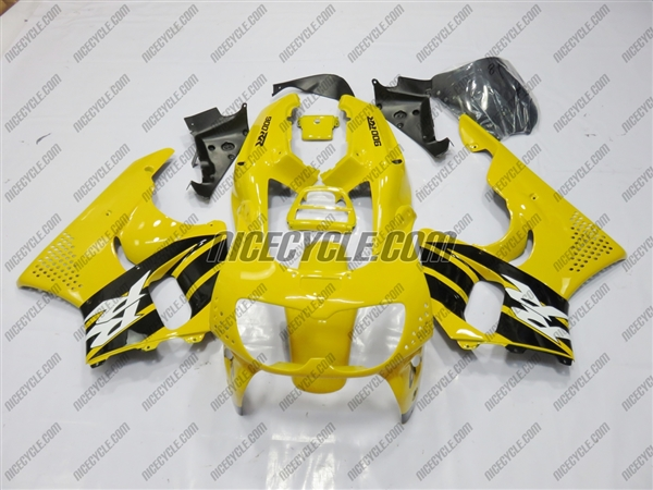 1998 1999 Honda CBR 900RR Yellow RR Fairings