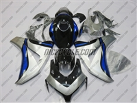 Honda CBR 1000RR Silver/Deep Blue Fairings