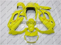 Honda VTR 1000F Yellow Fairing