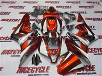 Razor Orange Honda CBR600RR Motorcycle Fairings