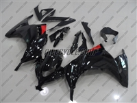 Kawasaki Ninja 300 Black Fairings