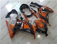 Kawasaki Ninja 300 Orange/Black Fairings