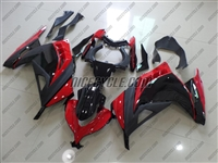 Kawasaki Ninja 300 Red/Black Fairings