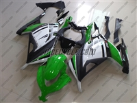 Kawasaki Ninja 300 Green/White Fairings