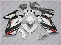 Kawasaki Ninja 300 White/Black Fairings
