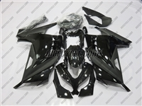 Kawasaki Ninja 300 Satin Black Gloss Fairings