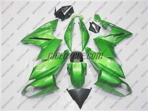 Kawasaki Ninja 650R Metallic Green Fairings