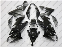 Kawasaki Ninja 650R Gloss/Matte Black Fairings