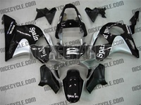 Spain No. 1 Black Honda CBR954RR Motorcycle Fairings