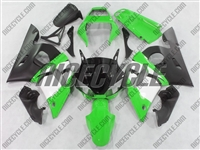 Yamaha YZF-R6 Hybrid Green Fairings