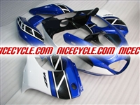 Yamaha YZF 1000 Thunderace Metallic Blue/White Fairings