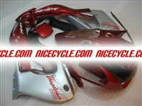 Yamaha YZF 1000 Thunderace Silver/Red Fairings