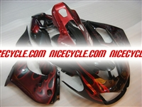 Yamaha YZF 1000 Thunderace Red Flame Fairings