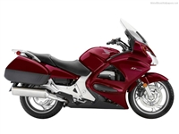 Honda ST1300 Deep Red Fairings