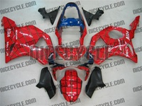 Spiderman Honda CBR954RR Motorcycle Fairings