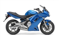 Kawasaki Ninja 650R Metallic Blue Fairings