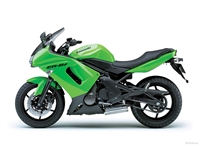 Kawasaki Ninja 650R Green Fairings