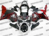 Honda CBR954RR Red Flame Fairings