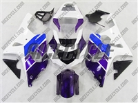 Suzuki GSX-R 1000 Blue/Purple/White Fairings