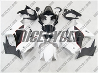 Black/White Ninja 250R Fairings