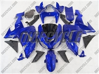 Candy Blue Kawasaki ZX10R Fairings