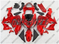 Candy Red Kawasaki ZX10R Fairings