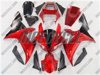 Yamaha YZF-R1 Candy Red Fairings