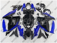 Suzuki GSX-R 1000 Black/Blue Fairings