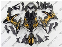 Gold Tribal Yamaha YZF-R1 Fairings