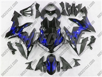 Yamaha YZF-R1 Blue Tribal Fairings