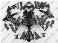 Yamaha YZF-R1 Silver Tribal Fairings
