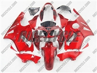Kawasaki ZX12R Fire Red Metallic Fairings