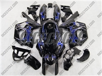 Yamaha YZF-600R Arctic Tribal Fairings