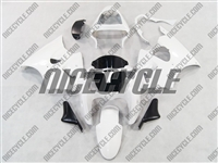 Kawasaki ZX6R White Fairings
