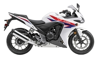 Honda CBR500R OEM Style White/Red Fairings